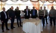 Πάτρα: Ο Κώστας Πελετίδης έδωσε το παρών στην κοπή πίτας των εργαζομένων στην καθαριότητα