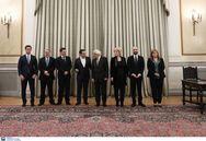 Ορκίστηκαν οι έξι νέοι υπουργοί της κυβέρνησης (φωτο+video)