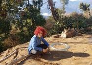 Η Πατρινή Χαρά Λαμπροπούλου εθελόντρια στο χωριό Takure του μακρινού Νεπάλ (pics)