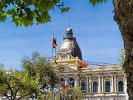 Βολιβία - Το ανάποδο ρολόι στο κοινοβούλιο της