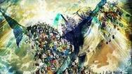 Το άρμα με την τεράστια φάλαινα που πνίγεται από πλαστικές σακούλες στο Καρναβάλι του Βιαρέτζο