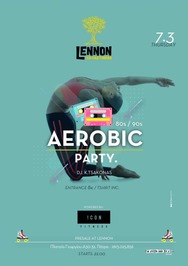 Aerobic party at Lennon
