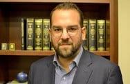 Ο Νεκτάριος Φαρμάκης για το Διακαστικό Μέγαρο Μεσολογγίου