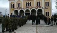 Πένθος στην Πάτρα: Πλήθος κόσμου αποχαιρέτησε τον 24χρονο Εύζωνα και αθλητή, Σπύρο Θωμά!