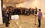 Πλήθος κόσμου στα εγκαίνια της έκθεσης του Πατρινού γλύπτη, Διονύση Γερολυμάτου! (φωτο)