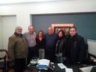 O Νίκος Παπαδημάτος συναντήθηκε με τους συμβασιούχους του Δήμου
