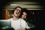 Andy Es & Jovolos at Pas Mal 24-02-19