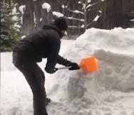 Ένα μπαρ φτιαγμένο από χιόνι (video)