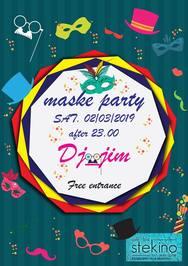 Maske Party at Stekino