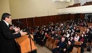 Ο Κώστας Πελετίδης, έδωσε το 'παρών' στην εκδήλωση του Εργατοϋπαλληλικού Κέντρου Πάτρας!
