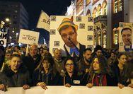 Ξανά στους δρόμους βγήκαν χιλιάδες Σέρβοι κατά του Βούτσιτς (φωτο)