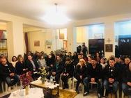 Συνάντηση νέων ζευγαριών στον Ιερό Ναό της Αγίας Μαρίνης Πατρών (φωτο)