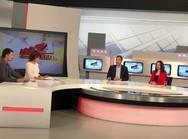 Ο Θανάσης Παπαθανάσης βρέθηκε στην εκπομπή της ΕΡΤ 'Μαζί το Σαββατοκύριακο'