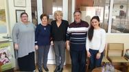 Η Σία Αναγνωστοπούλου επισκέφθηκε την «Κιβωτός Αγάπης» στην Πάτρα