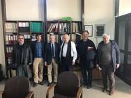 Ο Κ. Σπηλιόπουλος προχώρησε σε συνάντηση με τον Δήμαρχο Ανδρίτσαινας-Κρεστένων