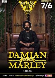Damian Marley στην Πλατεία Νερού