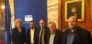 Συνάντηση Μαρλαφέκα με Αναγνωστοπούλου, Σπαρτινό και Ριζούλη για το ΤΕΙ Δ. Ελλάδας