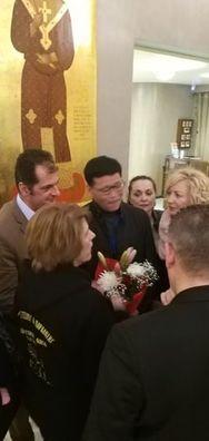 """Η Στέγη Πολιτισμού και Παράδοσης """"Αγία Λαύρα"""", καλωσόρισε τους Κινέζους φίλους της στην Πάτρα!"""