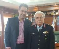 Συνάντηση Προέδρου της Ένωσης Αστυνομικών Υπαλλήλων Αχαΐας με τον Αρχηγό της ΕΛ.ΑΣ.