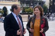 Αιγιαλεία: H Λίτσα Γιαννοπούλου - Γεωργίου κατεβαίνει υποψήφια με τον Δημήτρη Καλογερόπουλο