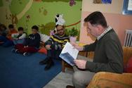ΚοινοΤοπία: Ενδιαφέρουσα συζήτηση των μαθητών με το συγγραφέα Κωνσταντίνο Κυριακόπουλο (φωτο)