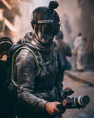"""Χάος και απόλυτη αναρχία σε μία πολύχρωμη """"μάχη"""" στο Γαλαξίδι (pics)"""