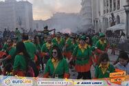 Οι «Ρομπέν των Πατρών» ήταν η πράσινη γοητεία του φετινού Πατρινού Καρναβαλιού! (pics)