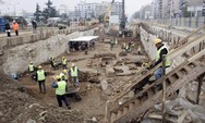 Τα έργα του μετρό αποκάλυψαν τείχη πλάτους 90 εκατ. στη Θεσσαλονίκη