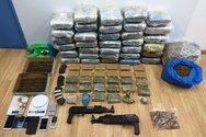 2.388 συλλήψεις και εντοπισμός μισού τόνου ναρκωτικών τον Φεβρουάριο