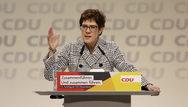 Ακατάλληλη για την Καγκελαρία η Κραμπ - Καρενμπάουερ σύμφωνα με δημοσκόπηση