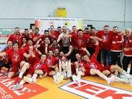 Πάτρα: Πάρτι έκανε ο Ολυμπιακός στον τελικό του χάντμπολ με την ΑΕΚ (video)