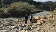 Τις κατεστραμμένες από τις πλημμύρες περιοχές επισκέφτηκε ο Σταύρος Θεοδωράκης