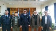 Πάτρα: Aντιπροσωπεία του ΠΕΑΚ στην Αστυνομική Διεύθυνση Δ. Ελλάδας