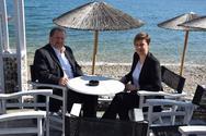 Αιγιάλεια: Yποψήφια με τον Δημήτρη Καλογερόπουλο η Παναγιώτα Σταυροπούλου