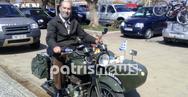 Βόλτα με εγγλέζικες μοτοσυκλέτες του Β΄ Παγκοσμίου στην Αμαλιάδα