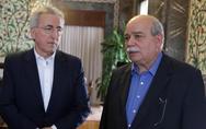 Έκτακτη συνάντηση Βούτση με τον Πρόεδρο της ΓΣΕΕ