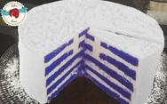 Μια πρωτότυπη συνταγή για τούρτα... ελληνική σημαία (video)