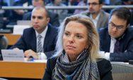 Πάτρα - Τα γραφεία της ΝΟΔΕ Αχαΐας επισκέφτηκε η υποψήφια Ευρωβουλευτής, Ελίζα Βόζεμπεργκ