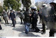 Προσαγωγές πριν από τη μαθητική παρέλαση στο κέντρο της Αθήνας (φωτο)