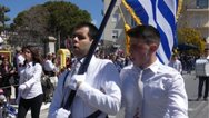 Κρήτη: Το πιο θερμό χειροκρότημα για τον τυφλό Χανιώτη σημαιοφόρο (φωτο)