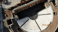 Ρωμαϊκό Ωδείο - Θαυμάστε το μεγαλοπρεπές κτίσμα της Πάτρας από ψηλά (video)