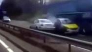 Οδηγούσε ανάποδα σε αυτοκινητόδρομο της Σκωτίας με μεγάλη ταχύτητα (video)