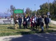 Πάτρα: Υποψήφιοι της Λαϊκής Συσπείρωσης πραγματοποίησαν περιοδεία στο Νότιο Πάρκο (pics)