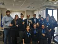 Πάτρα - Τον Απόστολο Κατσιφάρα επισκέφθηκε η πρωταθλήτρια ομάδα Νέων Γυναικών της ΝΕΠ!