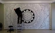Μεταμορφώνοντας έναν τοίχο σε εκπληκτικό έργο τέχνης (video)