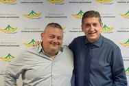 Πάτρα: Ο Γιώργος Καρβουνιάρης υποψήφιος με τον Γρηγόρη Αλεξόπουλο