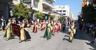 Εντονή παρουσία της Στέγης Πολιτισμού 'Αγία Λαύρα' στις εκδηλώσεις της 25ης Μαρτίου