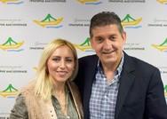 Πάτρα: Η Χαρά Αναστασοπούλου κατεβαίνει υποψήφια με τον Γρηγόρη Αλεξόπουλο