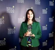 Έλενα Κουντουρά - Έλαβε το βραβείο 'Global Champion 2019' (video)