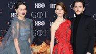 Στο κόκκινο χαλί της λαμπερής πρεμιέρας του Game of Thrones (φωτο)